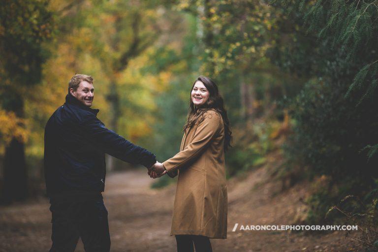 Lickey Hills Birmingham Engagement Photographer