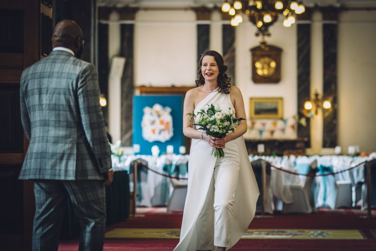 Birmingham Council House Beautiful Wedding