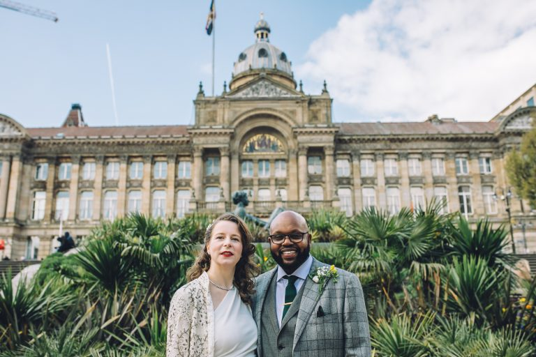 Wedding at Birmingham Council House